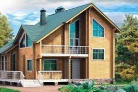 Проект деревянного дома 10-34