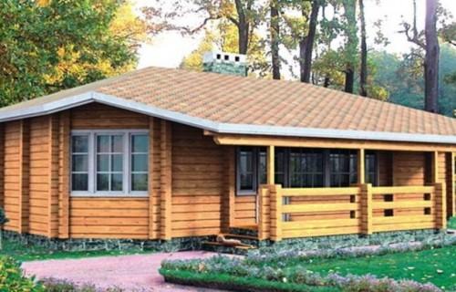 Проект деревянного дома 10-16