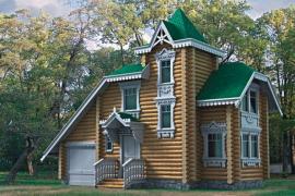 Проект деревянного дома 10-58