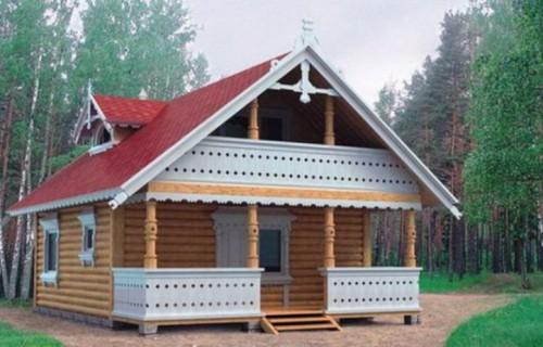 Проект деревянного дома 10-59