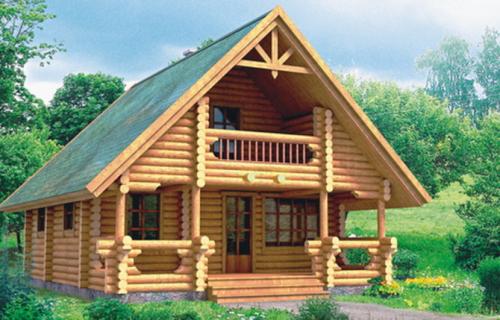 Проект деревянного дома 10-76