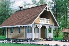 Проект деревянного дома 10-82