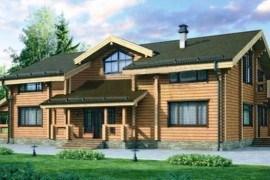 Проект деревянного дома 12-04