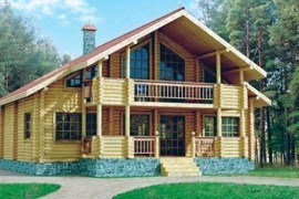 Проект деревянного дома 10-09