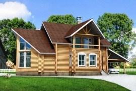 Проект деревянного дома 10-26
