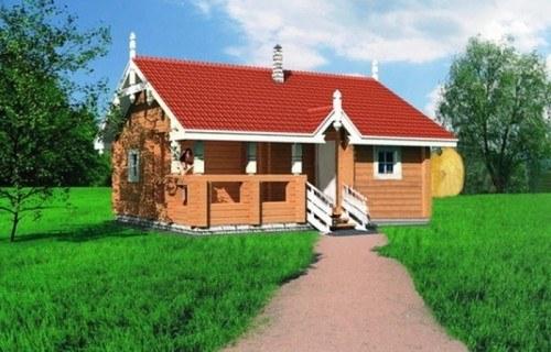 Проект деревянной бани 10-39