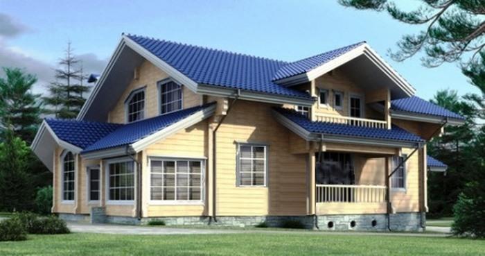 Проект деревянного дома 11-05