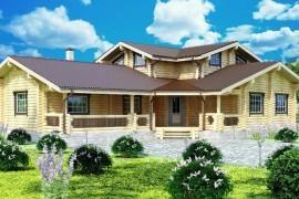 Проект деревянного дома 14-42