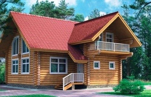 Проект деревянного дома 10-56