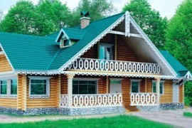 Проект деревянного дома 10-67