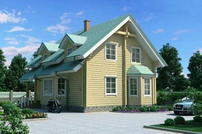 Проект деревянного дома 11-35