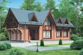 Проект деревянного дома 11-92