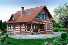 Проект деревянного дома 10-42