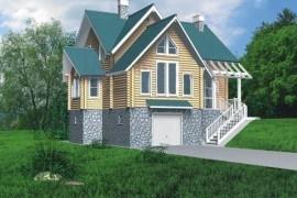 Проект деревянного дома 10-30