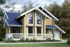 Проект деревянного дома 11-06