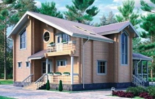 Проект деревянного дома 10-90