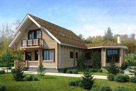 Проект деревянного дома 11-01