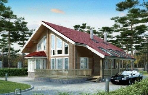 Проект деревянного дома 11-03