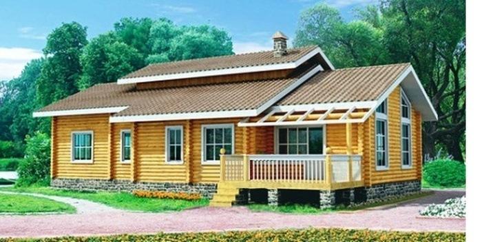 Проект деревянного дома 10-11