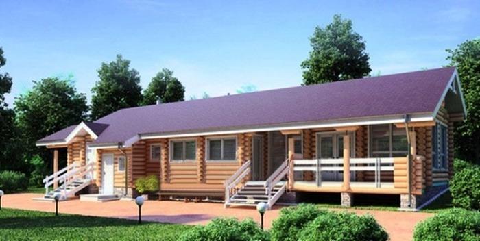 Проект деревянной бани 11-47