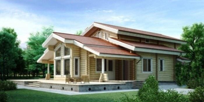 Проект деревянного дома 11-11