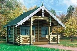 Проект деревянной бани 10-64