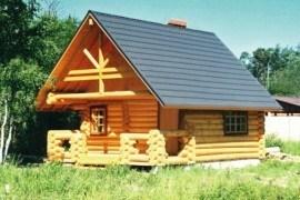 Проект деревянной бани 10-17