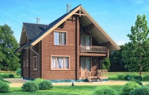 Проект деревянного дома 11-94