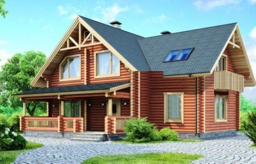 Проект деревянного дома 11-91