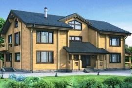 Проект деревянного дома 12-05