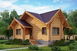 Проект деревянного дома 09-03