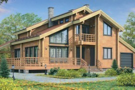 Проект деревянного дома 12-03