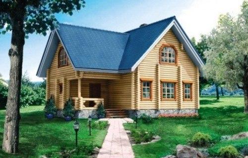 Проект деревянного дома 10-46