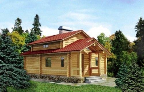 Проект деревянной бани 11-29