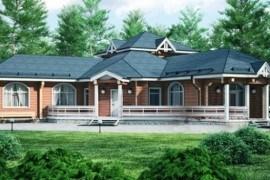 Проект деревянной бани 11-93