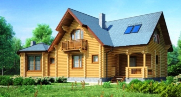 Проект деревянного дома 11-76