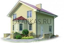 Проект каркасного дома КД-12.133