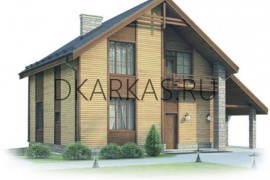 Проект каркасного дома КД-16.158