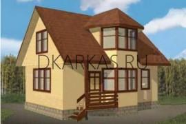 Проект каркасного дома КД-08.98