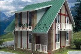 Проект каркасного дома КД-10.111