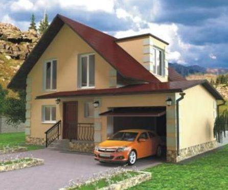Проект каркасного дома КД-22.159