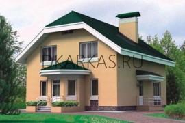 Проект каркасного дома КД-26.166