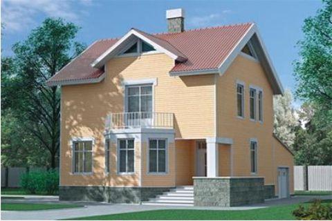 Проект каркасного дома КД-27.171