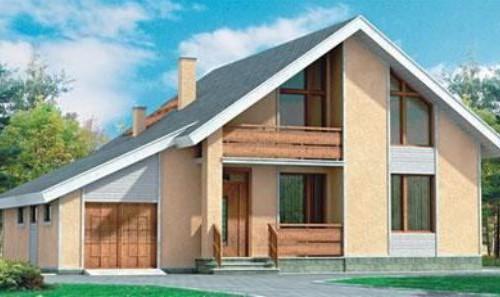 Проект каркасного дома КД-30.185