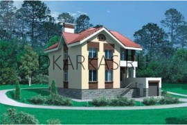 Проект каркасного дома КД-31.192