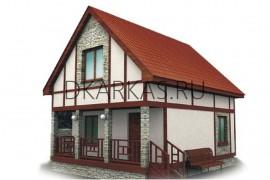 Проект каркасного дома КД-03.88