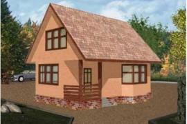 Проект каркасного дома КД-05.89