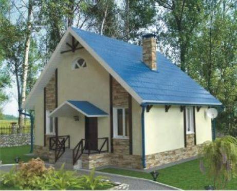 Проект каркасного дома КД-09.113