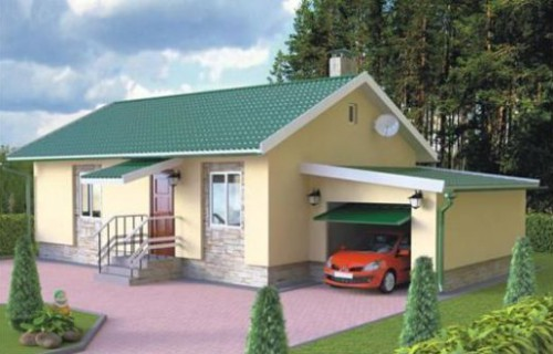 Проект каркасного дома КД-06.93