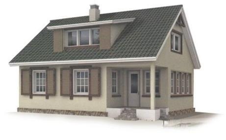 Проект каркасного дома КД-19.144
